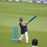 Is this another Alex Hales in the making? This one reaches the boundary for a 6